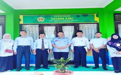 Perpustakaan Adiwara Pustaka melakukan studi banding ke SMAN 1 Kretek dan SMKN 1 Pundong